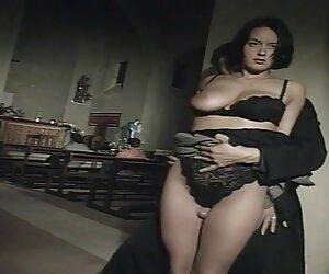 Mamá tetona Madison Peet teniendo videos pornos de travestis rubias sexo en un restaurante público