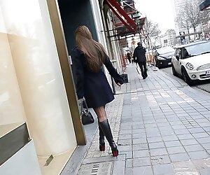 Euro Chicas 3some Anal videos de travestis hermosas # 01